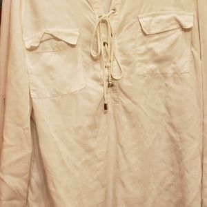 New York &company  off white blouse